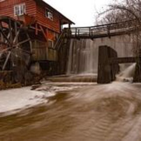 Richfield, OH: This is the Kirby Mill that used to generate electricity for the park.