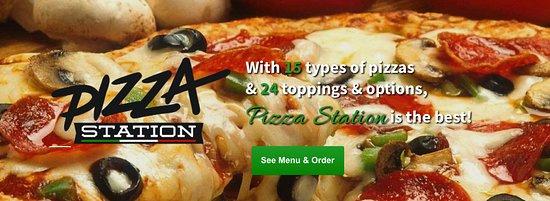 Jackson, WI: Our New Website! www.PizzaStationWI.com