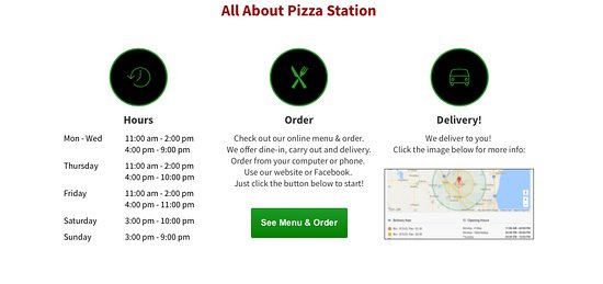 Jackson, WI: All About Pizza Station!