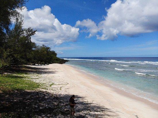 Tinian, Mariana Islands: white beach, where the USMC landed
