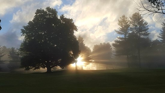 Brandon, VT: Dawn on the Course