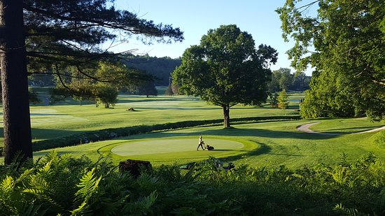Brandon, VT: Overlooking the front 9