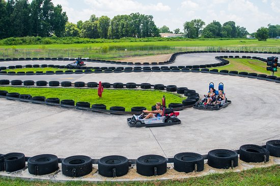 Poplar Bluff, MO: Get revved up to take a spin on Hydro Adventure's go-karts.