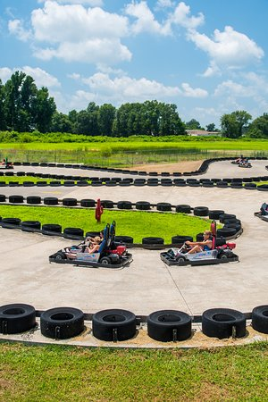 Poplar Bluff, MO: Tailpipe Alley- Get revved up to take a spin on Hydro Adventure's go-karts.