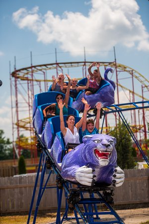 Poplar Bluff, MO: You'll be roaring with delight on this coaster! This family-friendly roller coaster is sure deli
