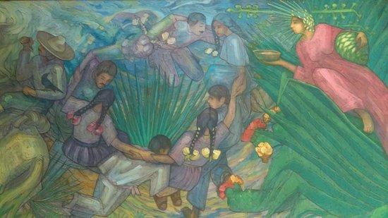 Destilería La Rojeña: mural