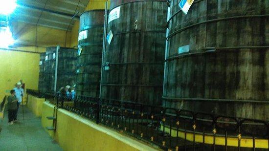 Destilería La Rojeña: bodegas