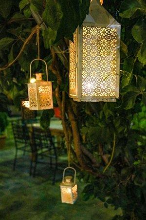 Paleokastro, Greece: Dinning with candle light