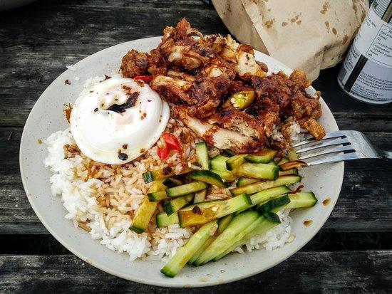 Porlock Weir, UK : Chicken Rice