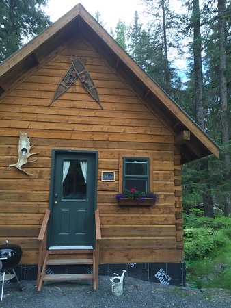 Salmon Creek Cabins : Exterior of cabin