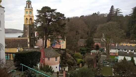 Portmeirion, UK: Views from the room