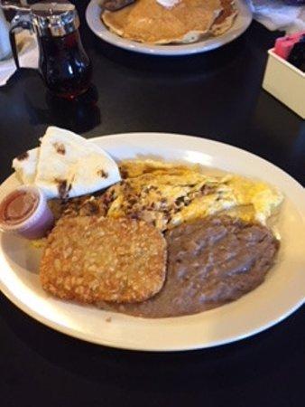 Marathon, TX: Chorizo and Eggs