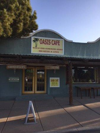 Marathon, TX: Oasis Cafe