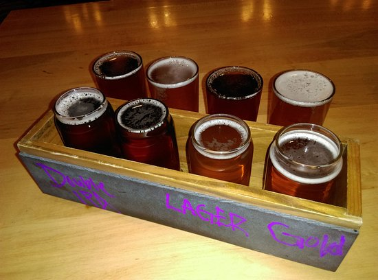 Susanville, CA: DIamond Mountain Brewery Beer sample