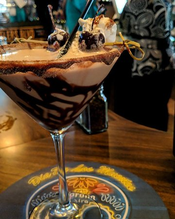 Lisbon, OH: The Chocolate Martini, one of our signature cocktails