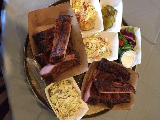 Alpine, TX: Pork Ribs and Sides