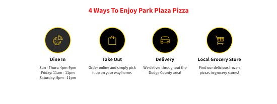 Beaver Dam, WI: 4 Ways To Enjoy Park Plaza Pizza