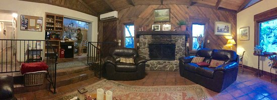 Hereford, Arizona: The lovely fireplace in the living room
