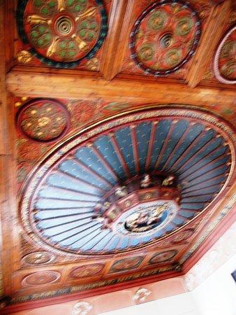 Maison Supersaxo: потолок