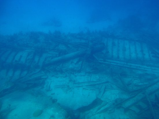 George Town, Gran Caimán: One of the shipwrecks