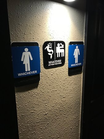 Restroom signs Handicap The Cork And Keg Restroom Signs Tripadvisor Restroom Signs Picture Of The Cork And Keg Fayetteville Tripadvisor