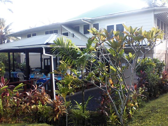Samoan Outrigger Hotel: Small area but nice