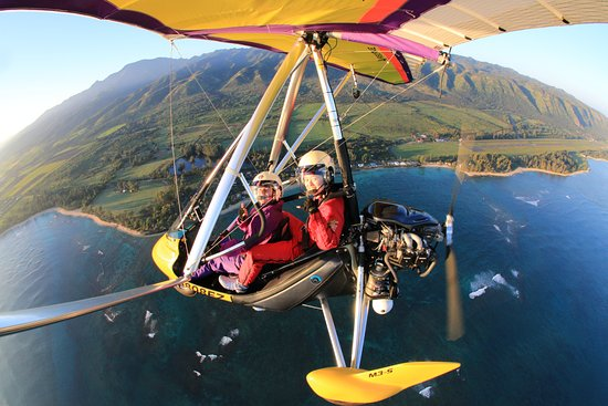 Paradise Air : Sunset flight with Denise