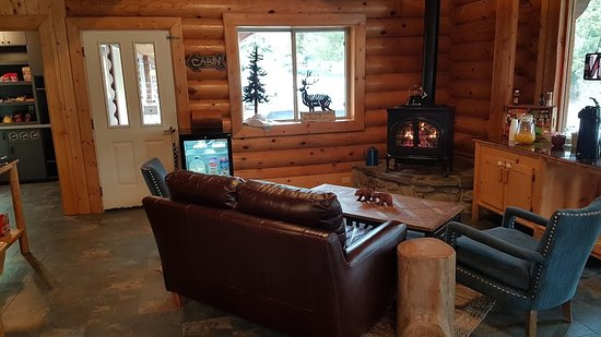 Bonners Ferry, ID: Very nice reception/lounge area
