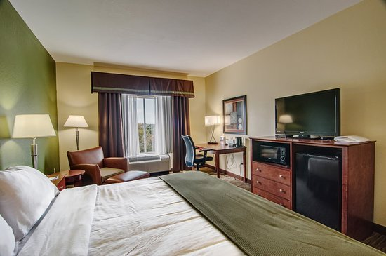 Holiday Inn Express and Suites Wytheville: Guest room