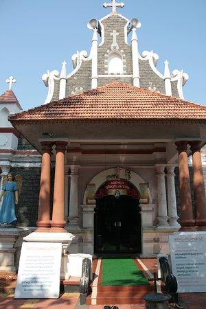 St. Thomas Forane Church: Entrance to the Ancient Church