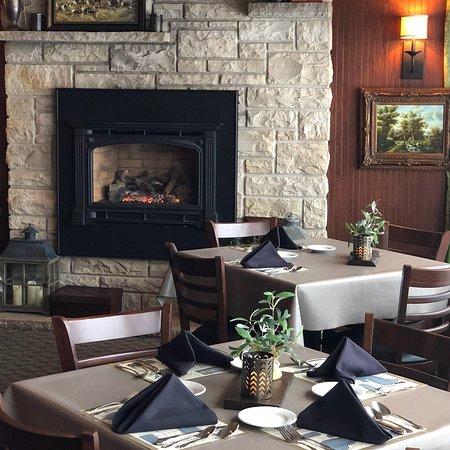 Green Lake, WI: Cozy lounge area