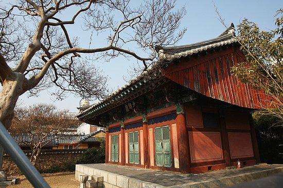 Andong, Korea Selatan: 태사묘 전경...