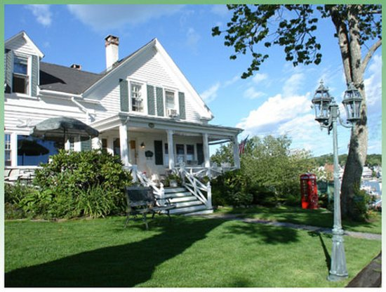 Greenleaf Inn at Boothbay Harbor: Exterior