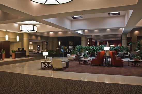 Sheraton Imperial Hotel Raleigh-Durham Airport at Research Triangle Park: Lobby