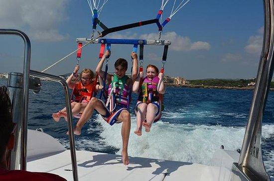 Parasailing Boat Tour in Capri