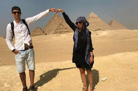 Best Day Tour Giza Pyramids Sphinx Memphis and Saqqara