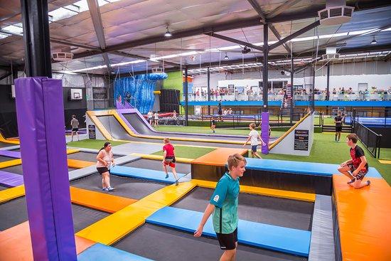 Rebound Arena Indoor Trampoline Park