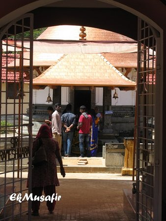 Rameshwara Temple: Entrance to temple.