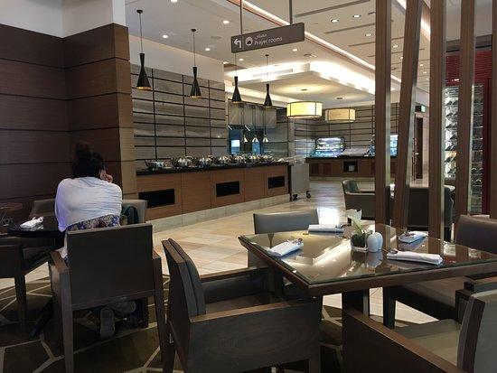 Ahlan Business Class Lounge: Food Area