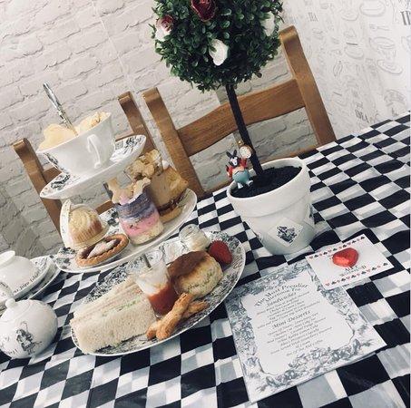 Bacup, UK: Alice in wonderland afternoon tea £14.99 pp