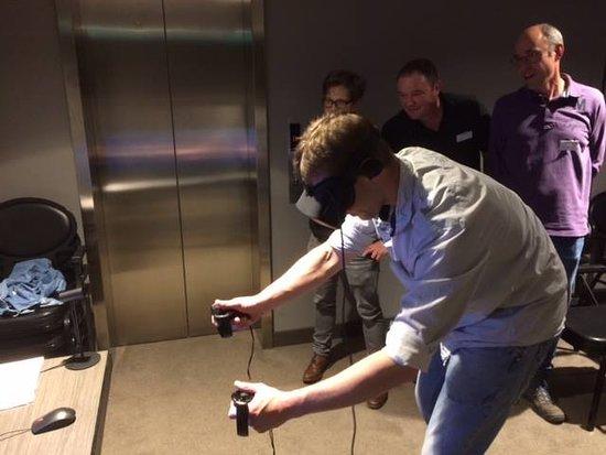 Erp, The Netherlands: Je hoeft niet stil te zitten bij Virtual Reality!