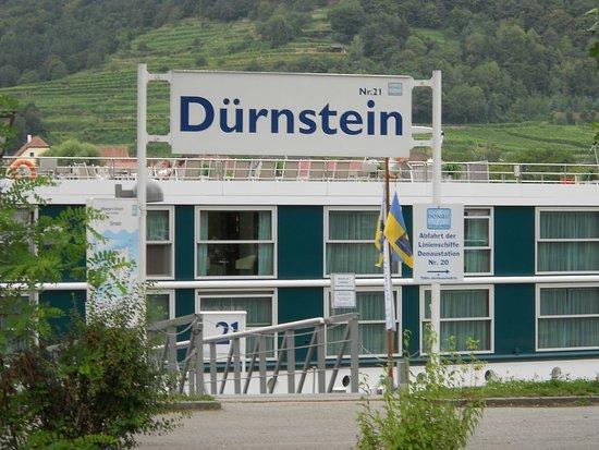 Dürnstein, Austria: Дунайский вход