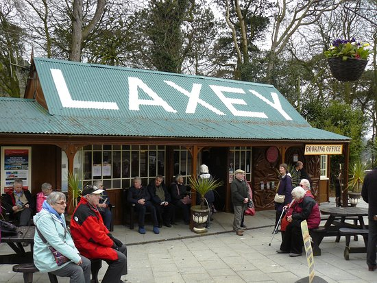 Manx Electric Railway: Laxey Station.