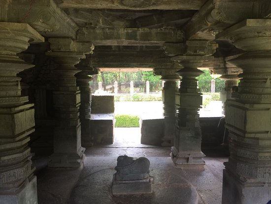 Sanguem, India: Nandi on the inside