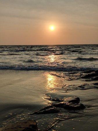 Beautiful Sunset at Ozran Beach