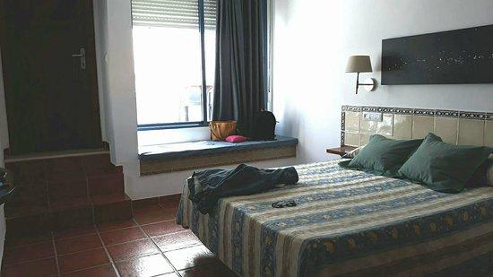 Hostal El Dorado: Parte de nuestra habitación!
