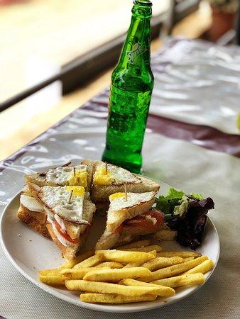Sushi Cafe: Chicken Club Sandwich