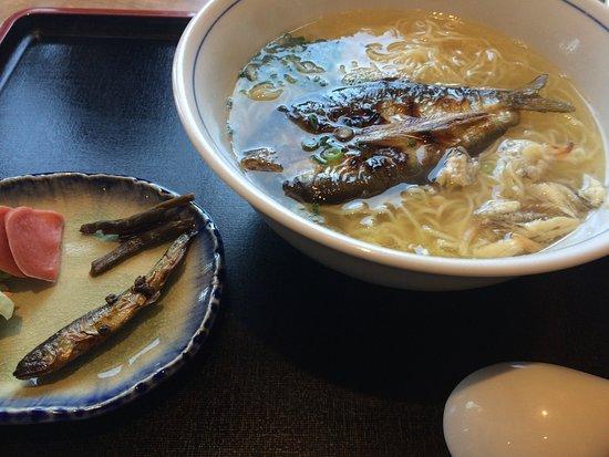 Kawaramachi Izumiya: 鮎ラーメン