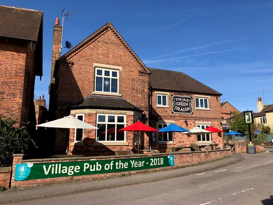 """The Old Green Dragon: Nottingham CAMRA """"Village Pub of the Year 2018"""""""
