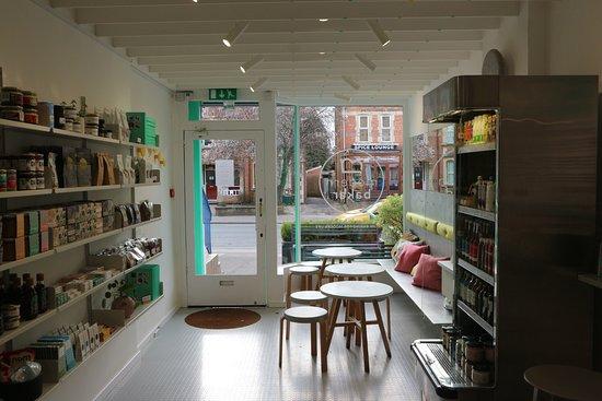Modern Baker: The cafe!